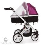 Детская коляска Babyruler ST166 москитная сетка